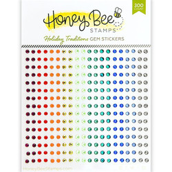 Holiday Traditions Gems, Honey Bee Stickers - 652827605373