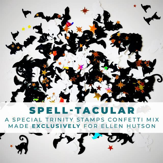 SPELL-tacular Confetti Mix, Trinity Stamps Embellishments -