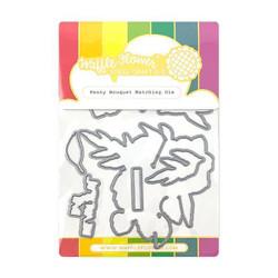 Peony Bouquet, Waffle Flower Dies - 644216565122