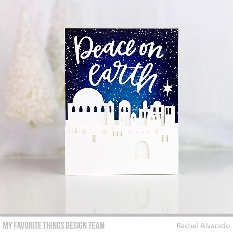 Peace On Earth, My Favorite Things Die-Namics - 849923032695