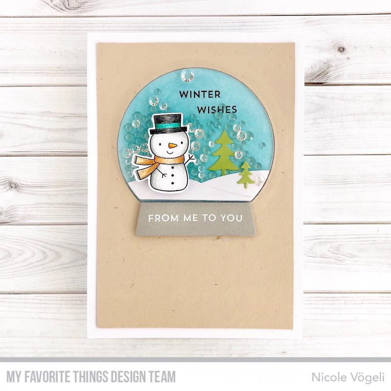 Classic Snow Globe, My Favorite Things Die-Namics - 849923032701