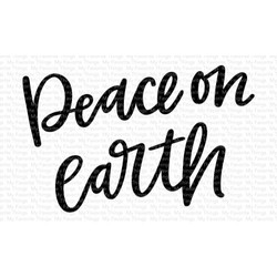 Peace On Earth, My Favorite Things Clear Stamps - 849923032411