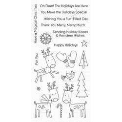 Reindeer Games, My Favorite Things Clear Stamps - 849923032497