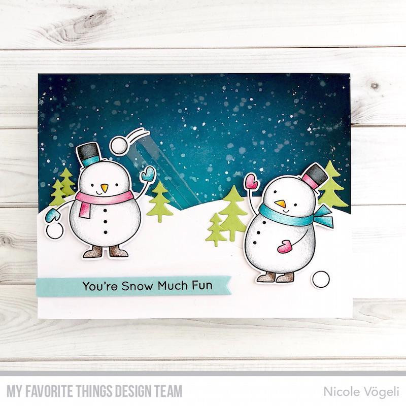 Festive Friends, My Favorite Things Clear Stamps - 849923032527
