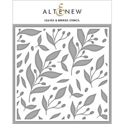 Leaves & Berries, Altenew Stencils - 737787255872