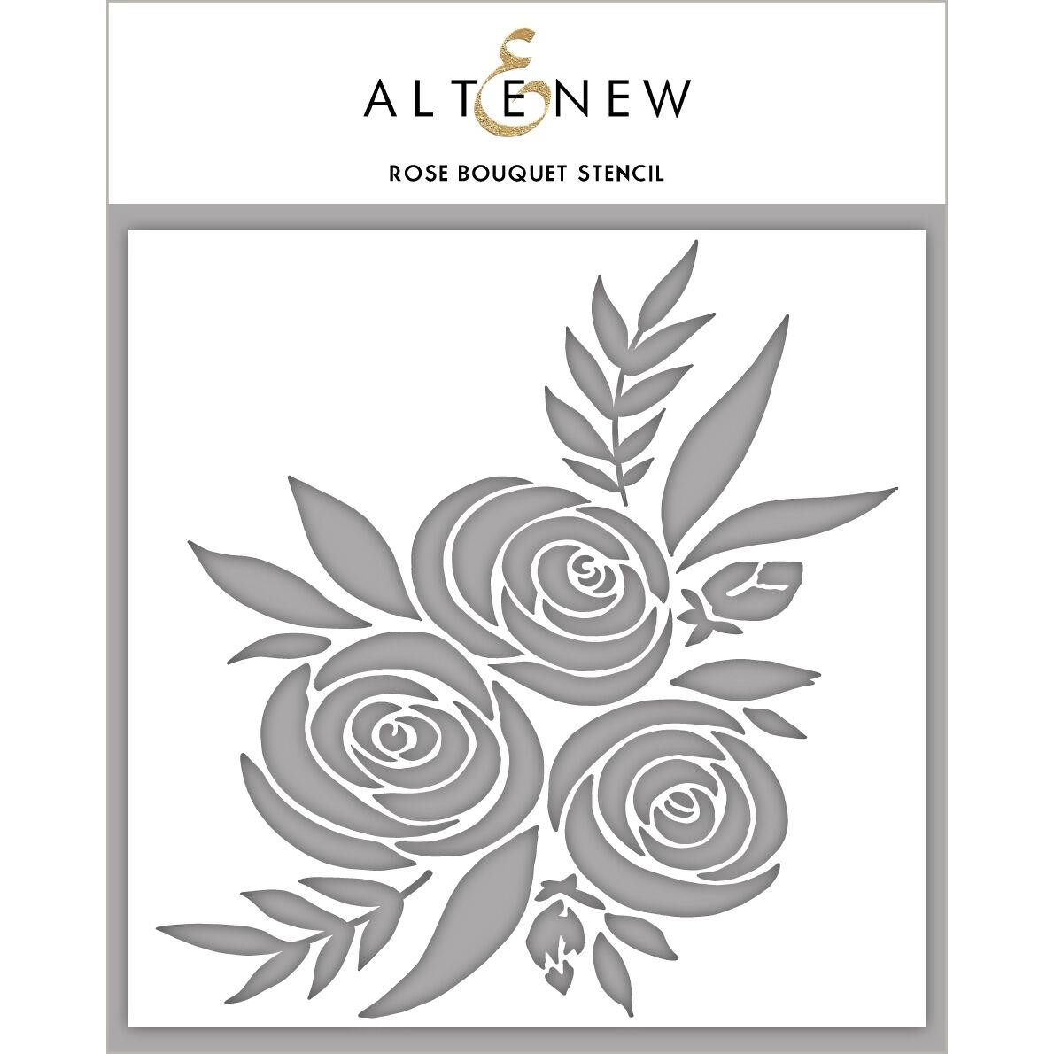 Rose Bouquet, Altenew Stencils - 737787255902