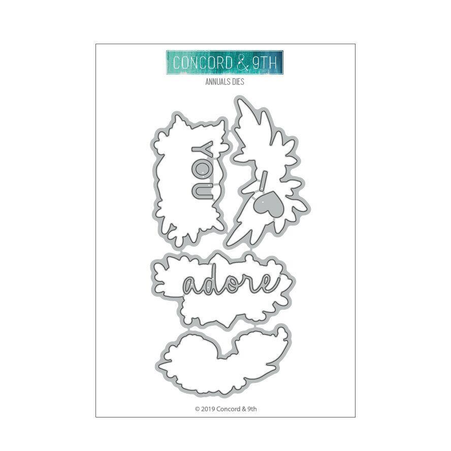 Annuals, Concord & 9th Dies - 090222400962