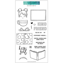 Daily Wear , Concord & 9th Clear Stamps - 090222401013