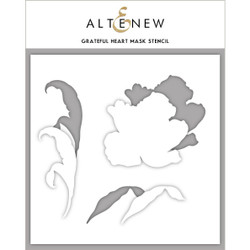 Grateful Heart, Altenew Mask Stencil - 737787255452
