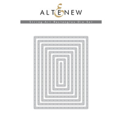 String Art Rectangles, Altenew Dies - 704831303292