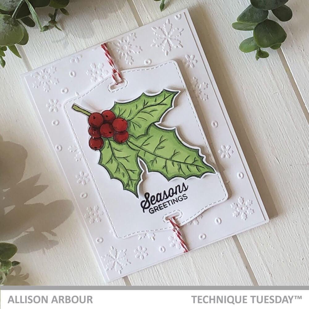 Holly, Technique Tuesday Clear Stamps - 811784022733