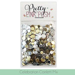 Celebration, Pretty Pink Posh Confetti Mix -