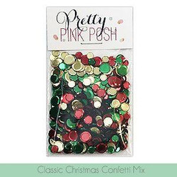 Classic Christmas, Pretty Pink Posh Confetti Mix -