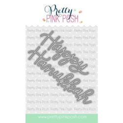 Happy Hanukkah Script, Pretty Pink Posh Dies -
