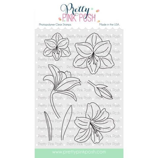Amaryllis, Pretty Pink Posh Clear Stamps -