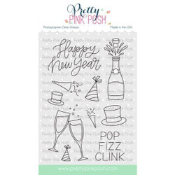 Happy New Year, Pretty Pink Posh Clear Stamps -