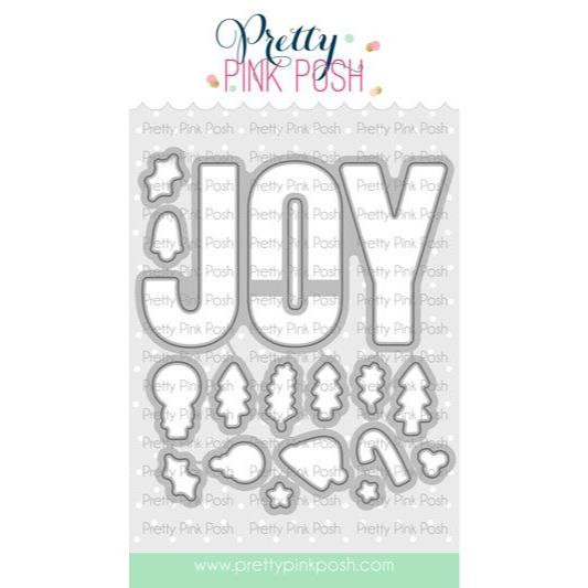 Joy, Pretty Pink Posh Dies -
