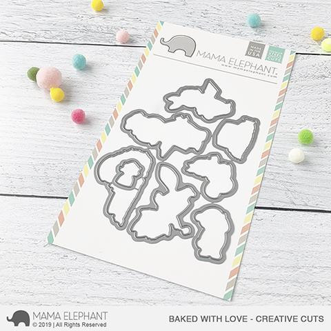 Baked With Love, Mama Elephant Creative Cuts -