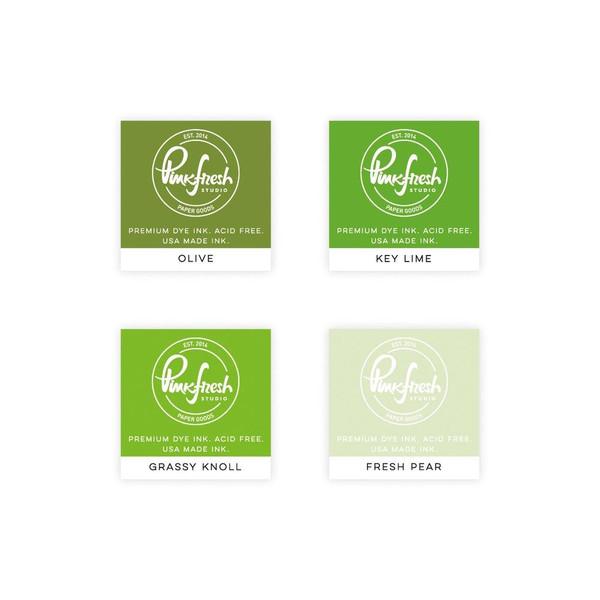 Over The Hills, Pinkfresh Studio Premium Dye Ink Cubes - 782150202762