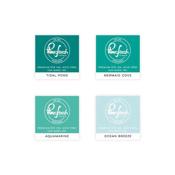 Island Oasis, Pinkfresh Studio Premium Dye Ink Cubes - 782150202786