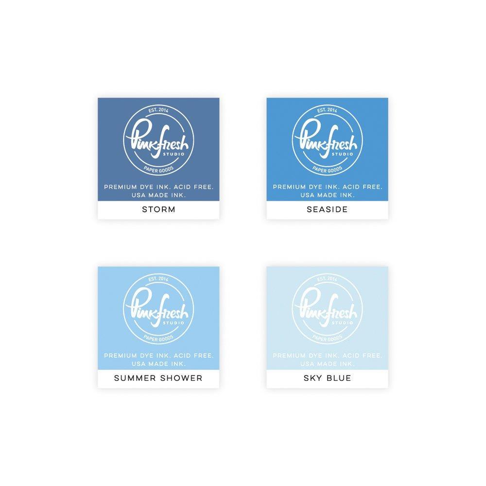 Morning Sky, Pinkfresh Studio Premium Dye Ink Cubes - 782150202793