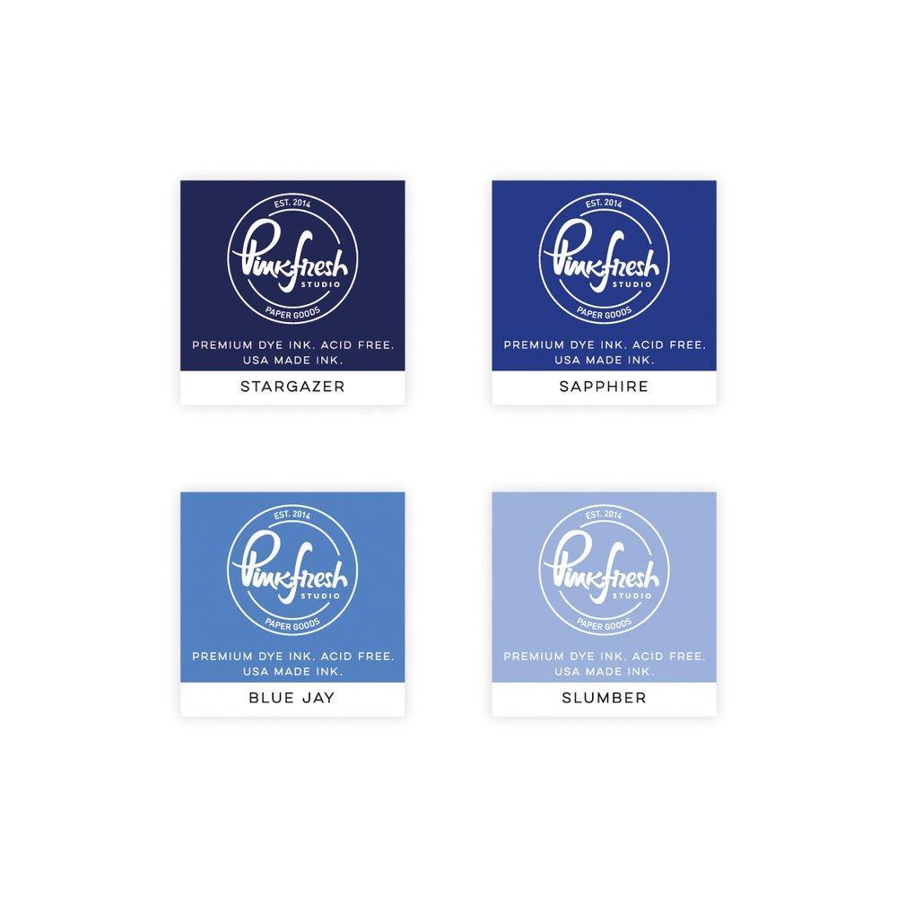 Starry Night, Pinkfresh Studio Premium Dye Ink Cubes - 782150202809