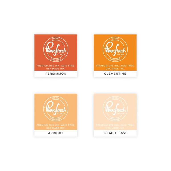 Indian Summer, Pinkfresh Studio Premium Dye Ink Cubes - 782150202847