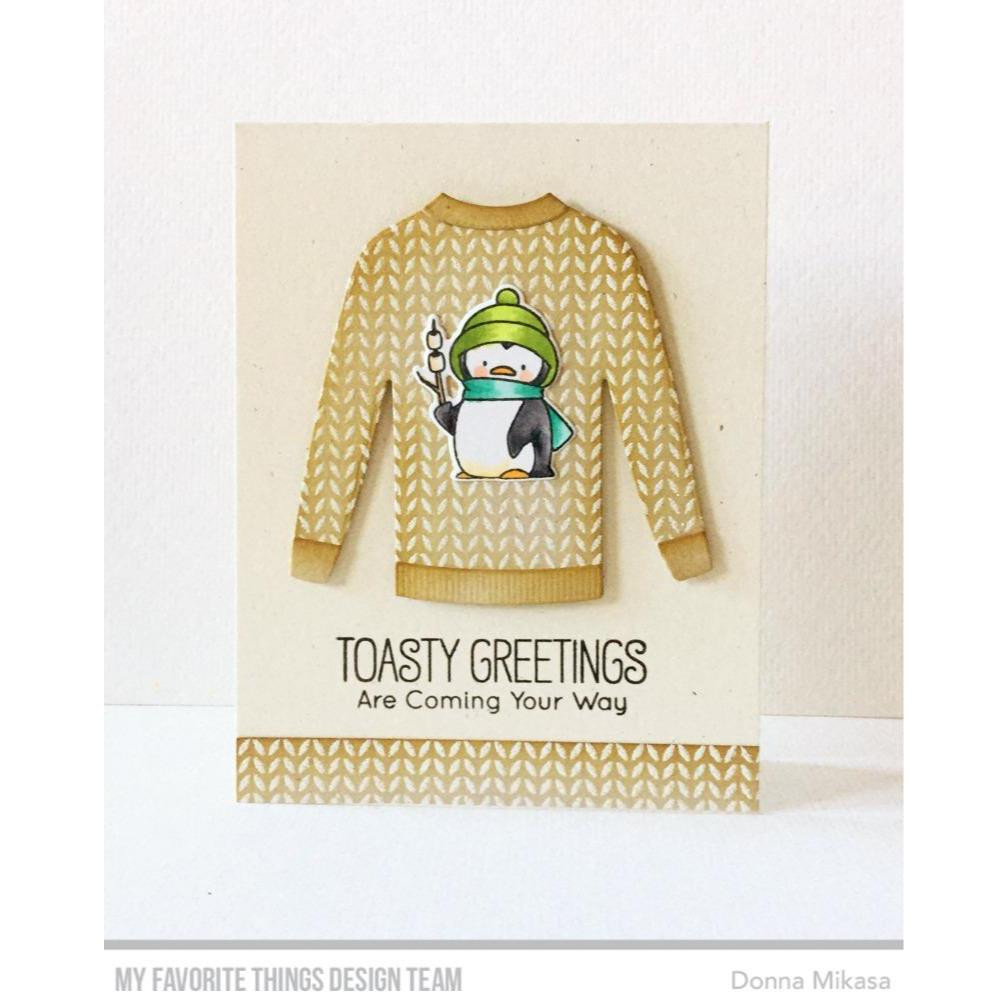 Toasty Greeting, My Favorite Things Die-Namics - 849923032947
