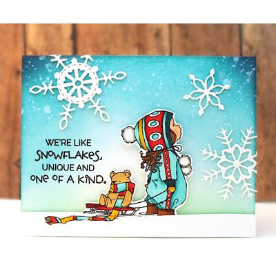 Winter Chill, Penny Black Clear Stamps - 759668306275