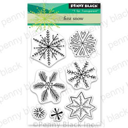 First Snow, Penny Black Clear Stamps - 759668306312