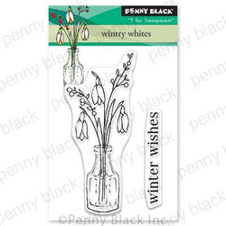 Wintry Whites, Penny Black Clear Stamps - 759668306343