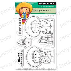 Cozy Cuteness, Penny Black Clear Stamps - 759668306367