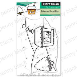 Blizzard Buddies, Penny Black Clear Stamps - 759668306374