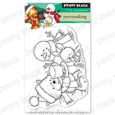 Merrymaking, Penny Black Clear Stamps - 759668306381
