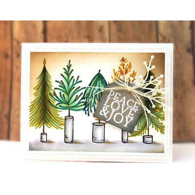 Sweet Sledder, Penny Black Clear Stamps - 759668306473