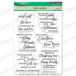 Holy Season, Penny Black Clear Stamps - 759668306480