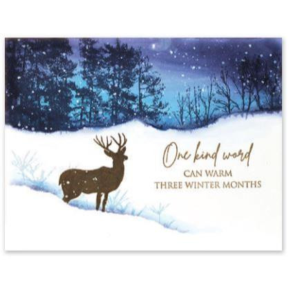 Winter Woodland, Penny Black Cling Stamps - 759668407125