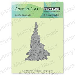 Fir Tree, Penny Black Dies - 759668515530