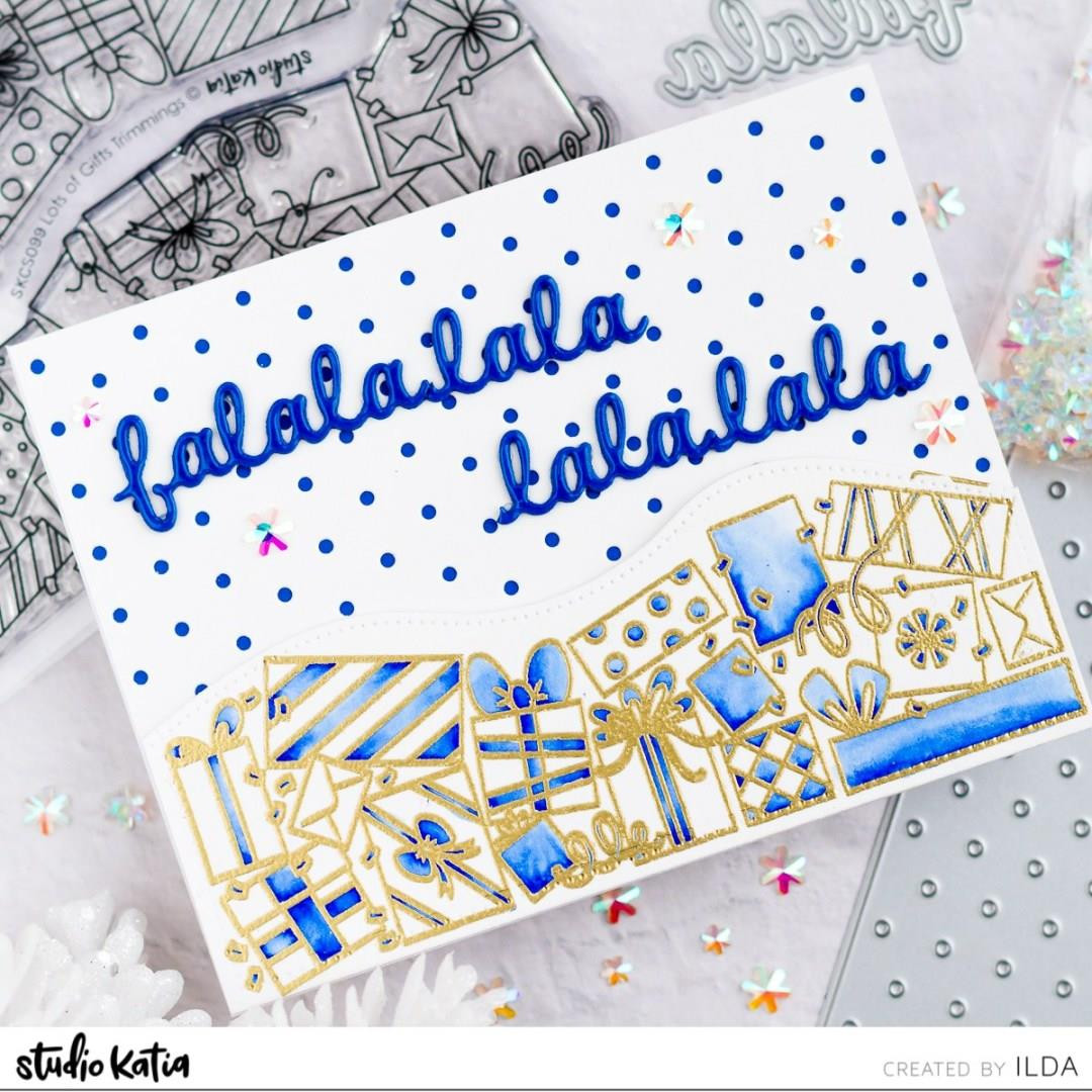 Lots Of Gifts Trimmings, Studio Katia Clear Stamps - 0013415373744