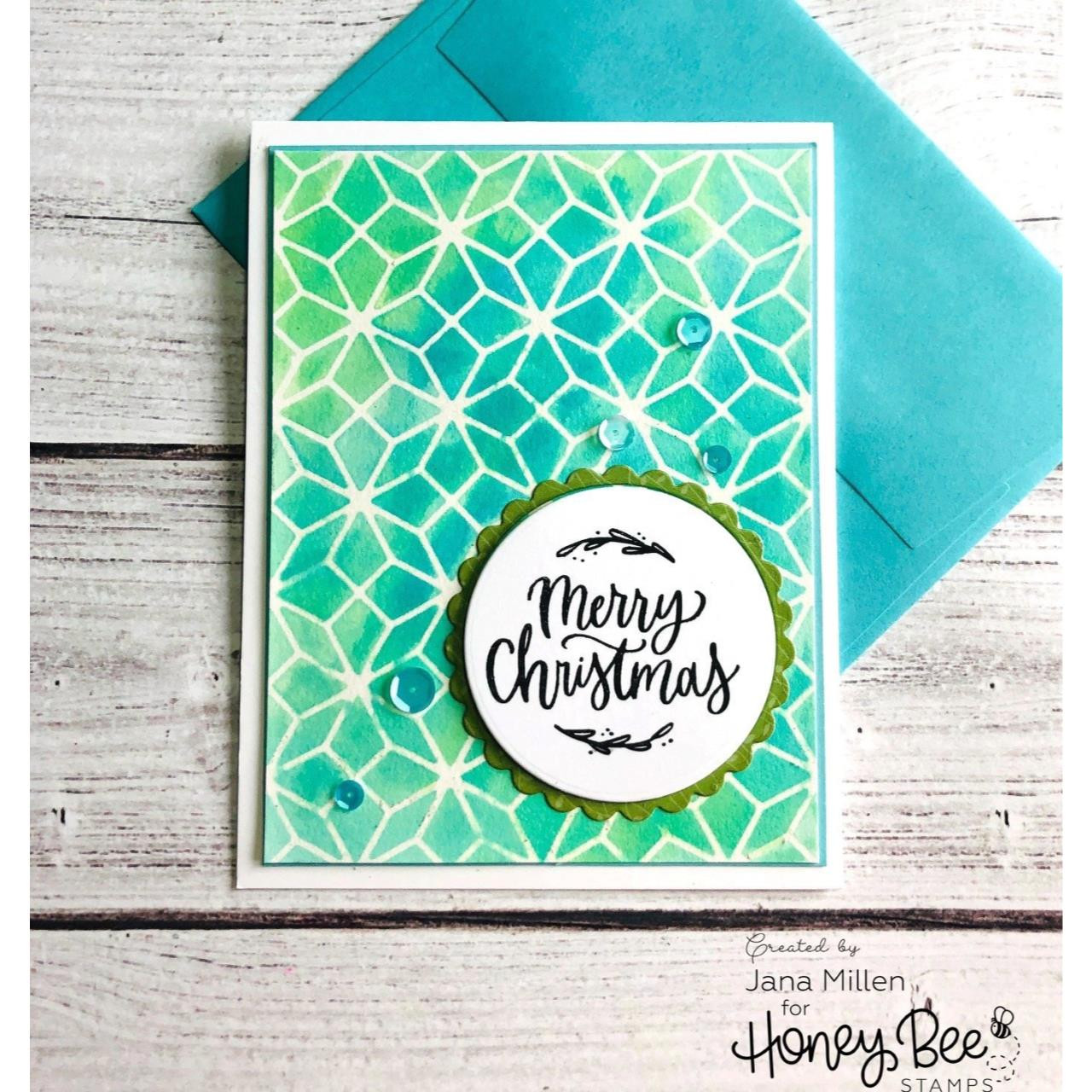 Christmas Blessings, Honey Bee Clear Stamps - 652827605250