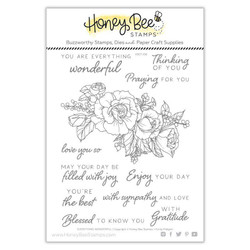 Everything Wonderful, Honey Bee Clear Stamps - 652827605076