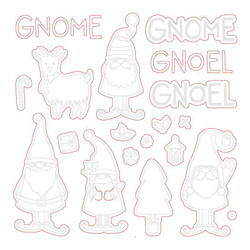 Gnome Place Like Home, Honey Cuts Dies - 652827604871