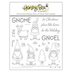 Gnome Place Like Home, Honey Bee Clear Stamps - 652827605267