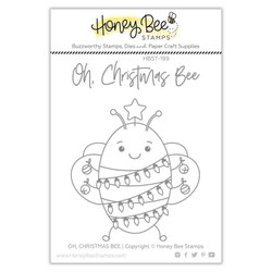 Oh Christmas Bee, Honey Bee Clear Stamps - 652827605199