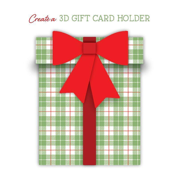 Gift Card Present Box, Honey Cuts Dies - 652827604932