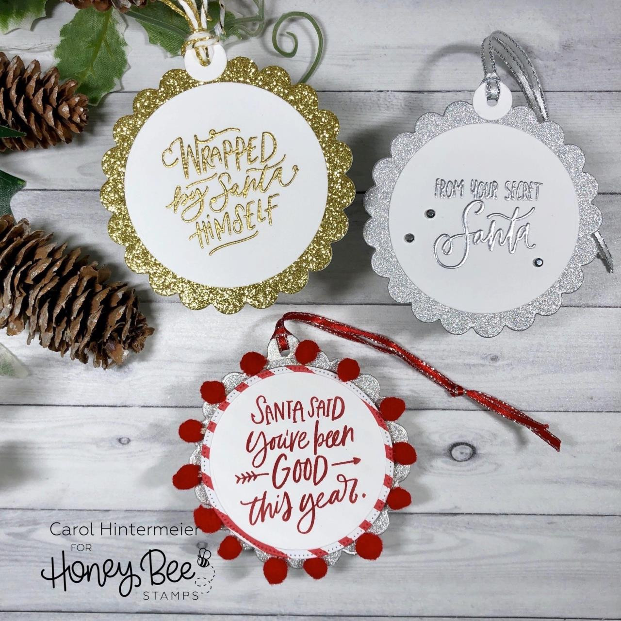Scallop Circle Gift Tag, Honey Cuts Dies - 652827604956