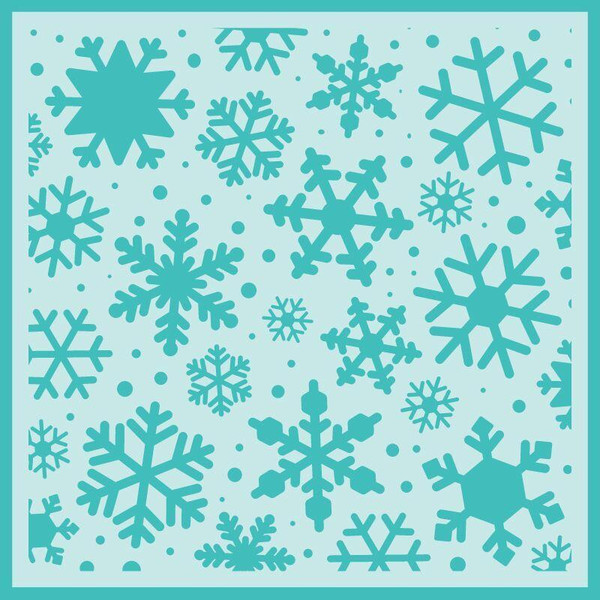 Snowfall Background, Honey Bee Stencils - 652827604680