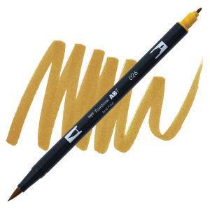 Yellow Gold (026), Tombow Dual Brush Pens - 085014565035