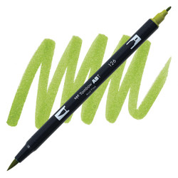 Light Olive (126), Tombow Dual Brush Pens - 085014565134