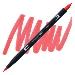 Warm Red (885), Tombow Dual Brush Pens - 085014566032